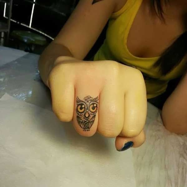 2ed76a88a5960 100 Imaganitve Finger Tattoo Designs For Boys and Girls