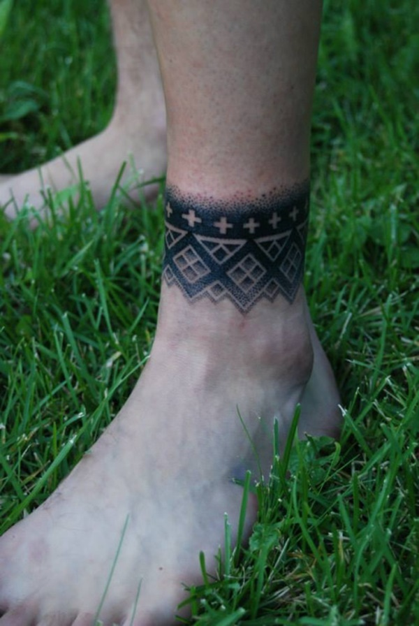 ankle tattoo designs (55)
