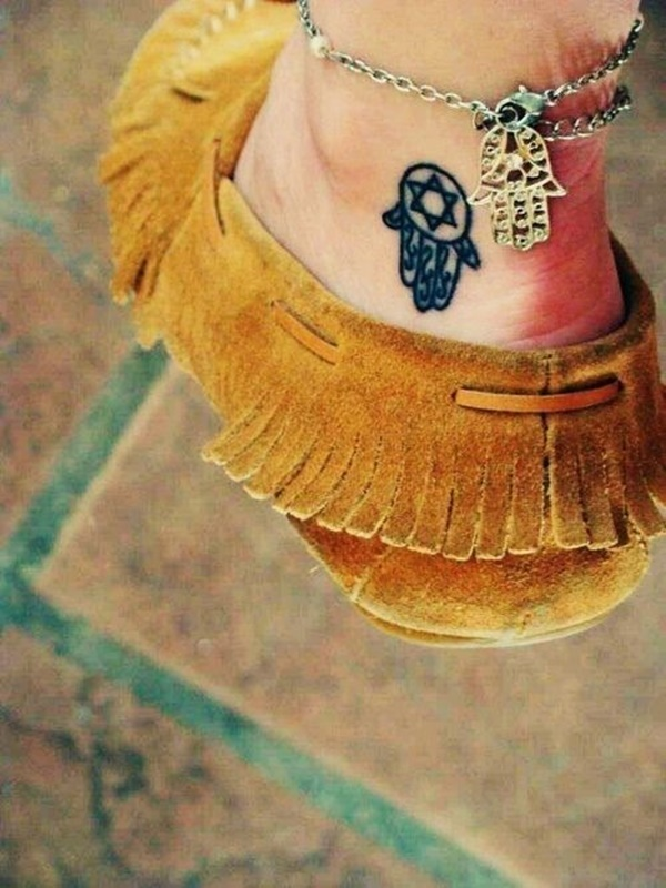ankle tattoo designs (68)