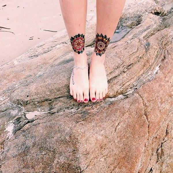 ankle tattoo designs (73)