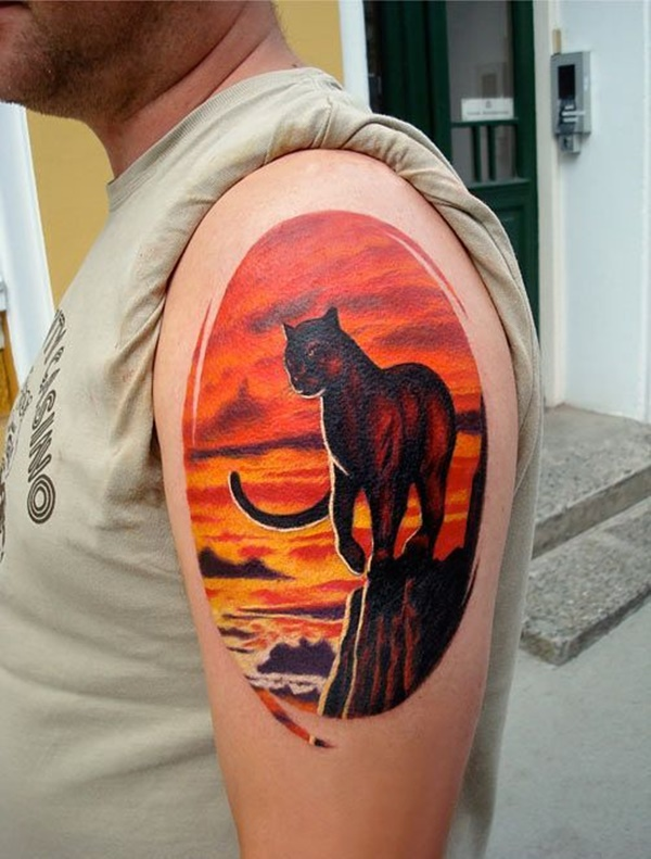panther tattoo designs (10)