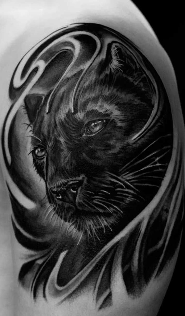 100 panther tattoos that will have you clawing at the doors of the tattoo parlor. Black Bedroom Furniture Sets. Home Design Ideas