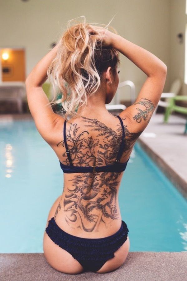 Back Tattoos For Women 115