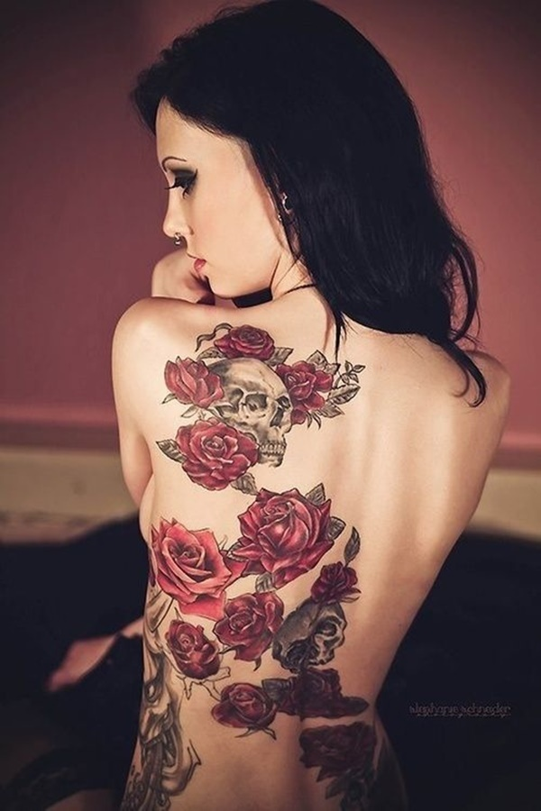 back tattoos for women (150)