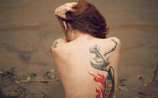 back tattoos for women (163)