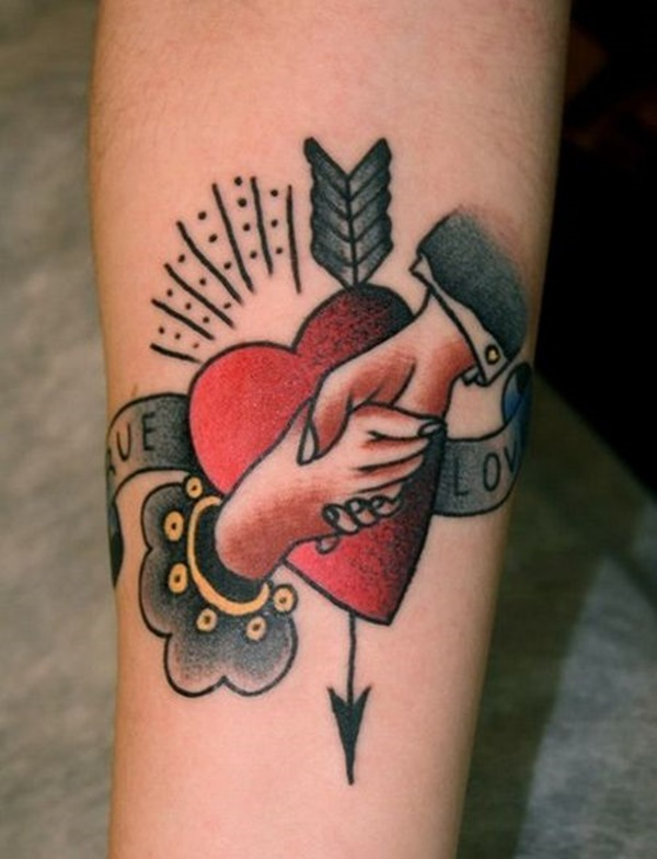 100 love tattoo ideas for someone special ForTrue Love Tattoos
