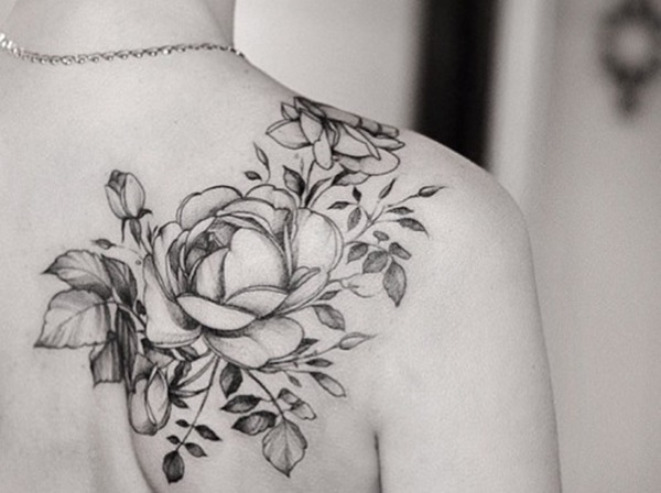 Flower Shoulder Tattoo Designs: 100 Exceptional Shoulder Tattoo Designs For Men And Women