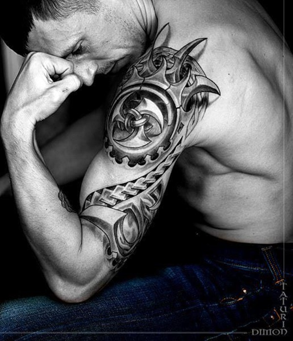 100 exceptional shoulder tattoo designs for men and women. Black Bedroom Furniture Sets. Home Design Ideas