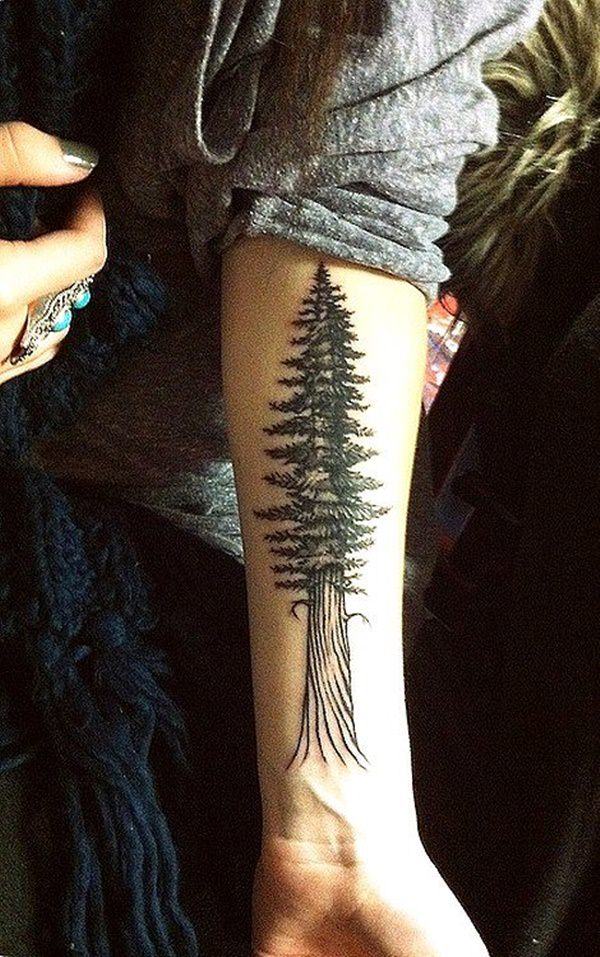 45 tree tattoos that will grow your inspiration. Black Bedroom Furniture Sets. Home Design Ideas