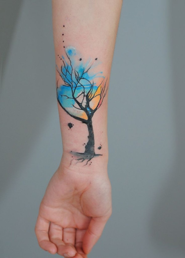 blue tattoo designs (25)