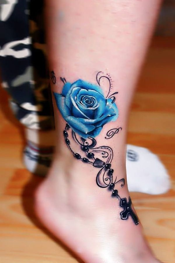 blue tattoo designs (27)