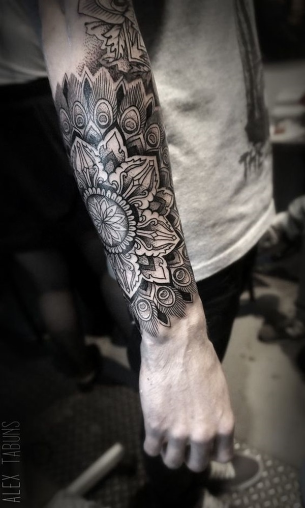 Mandala tattoo designs (104)