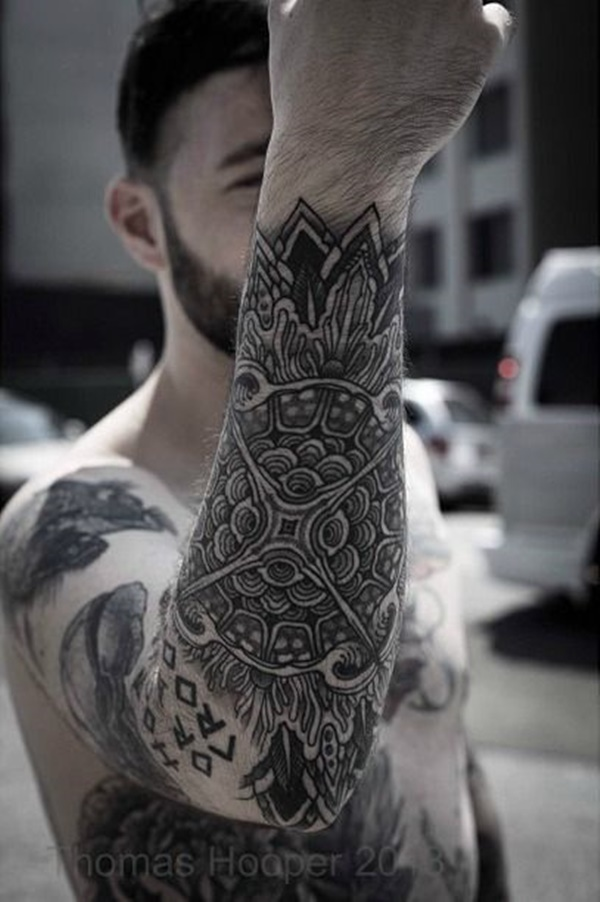 a064532d46f87 100 Traditional Mandala Tattoo Designs For Art Lovers