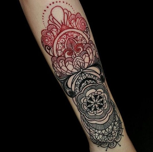 Mandala tattoo designs (50)