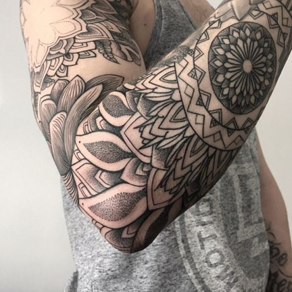 Mandala tattoo designs (68)