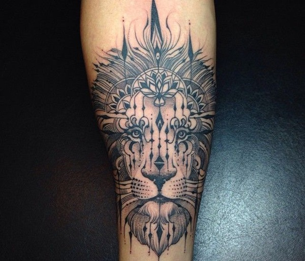 lion tattoo ideas (11)