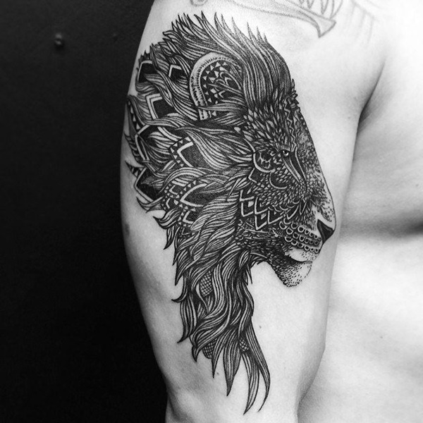lion tattoo ideas (23)