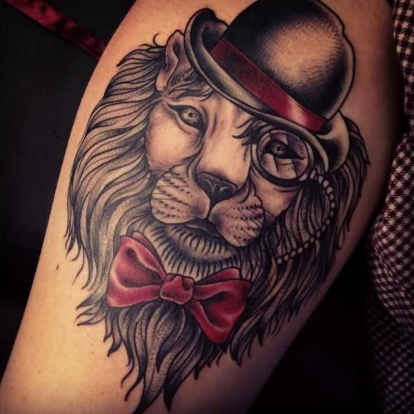 lion tattoo ideas (24)