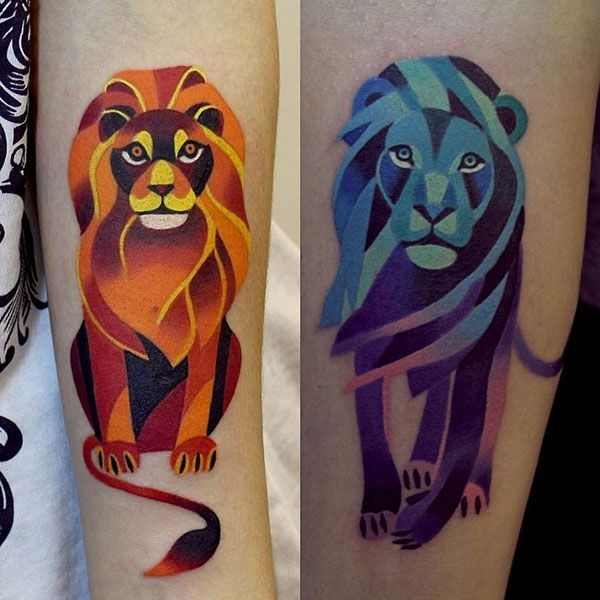 lion tattoo ideas (25)