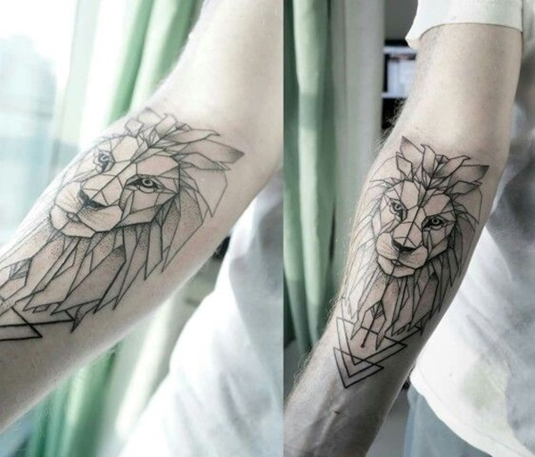 lion tattoo ideas (27)