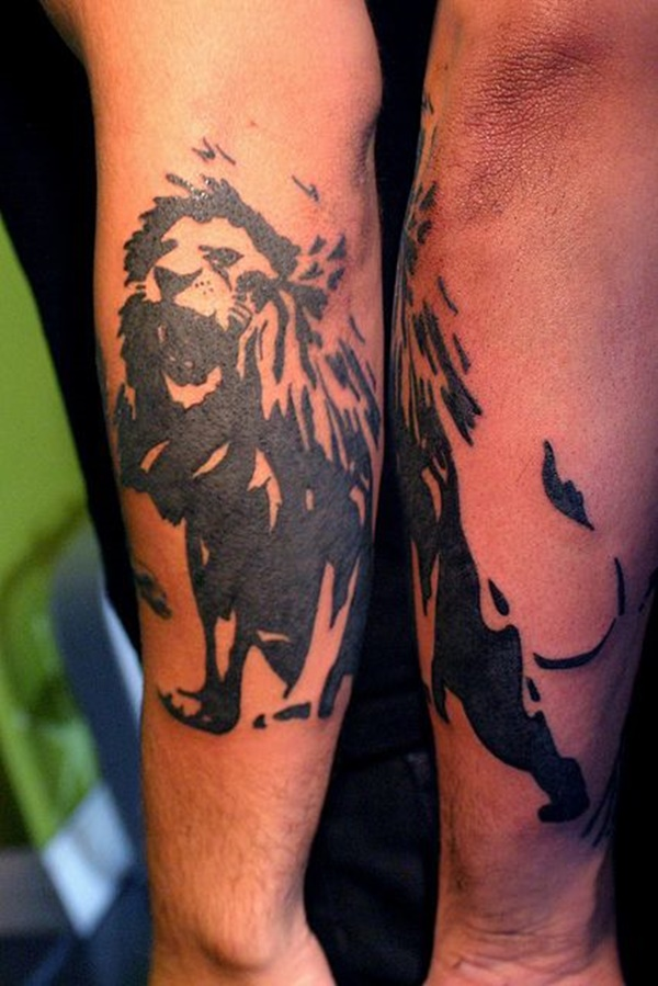 lion tattoo ideas (28)