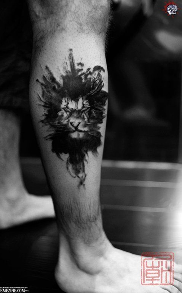 lion tattoo ideas (29)
