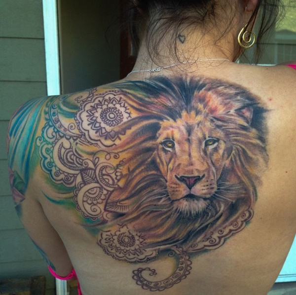 lion tattoo ideas (35)