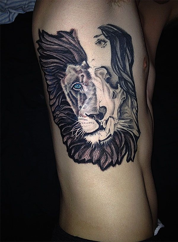 lion tattoo ideas (37)