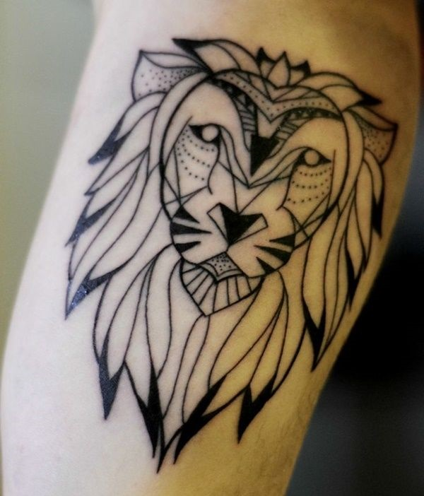 lion tattoo ideas (4)