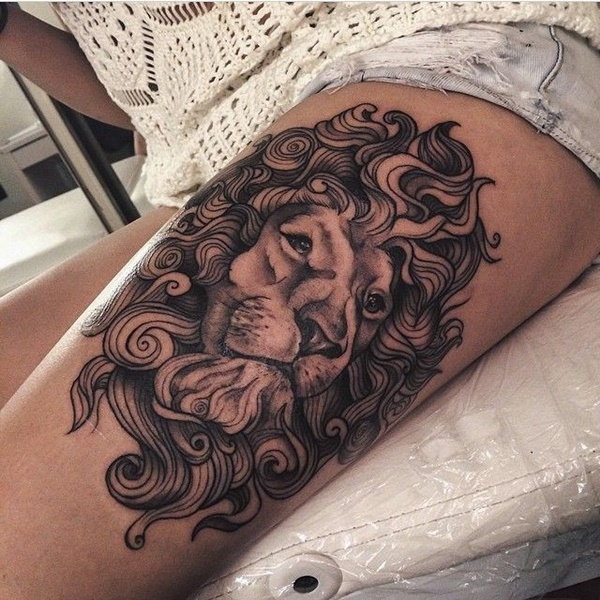 lion tattoo ideas (41)