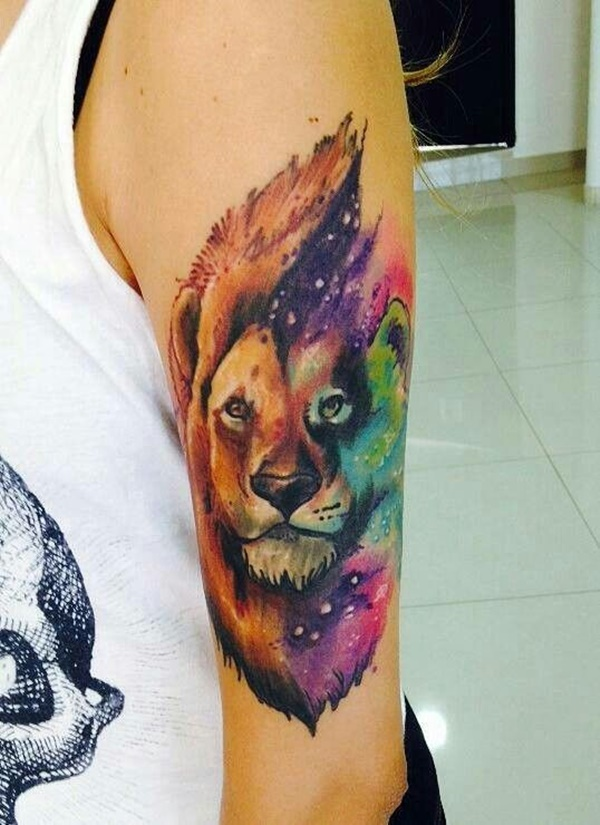 lion tattoo ideas (42)