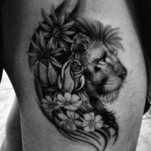 lion tattoo ideas (43)