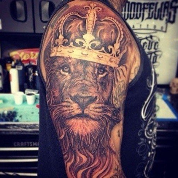 lion tattoo ideas (49)
