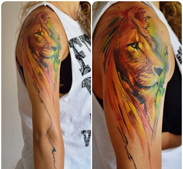 lion tattoo ideas (51)