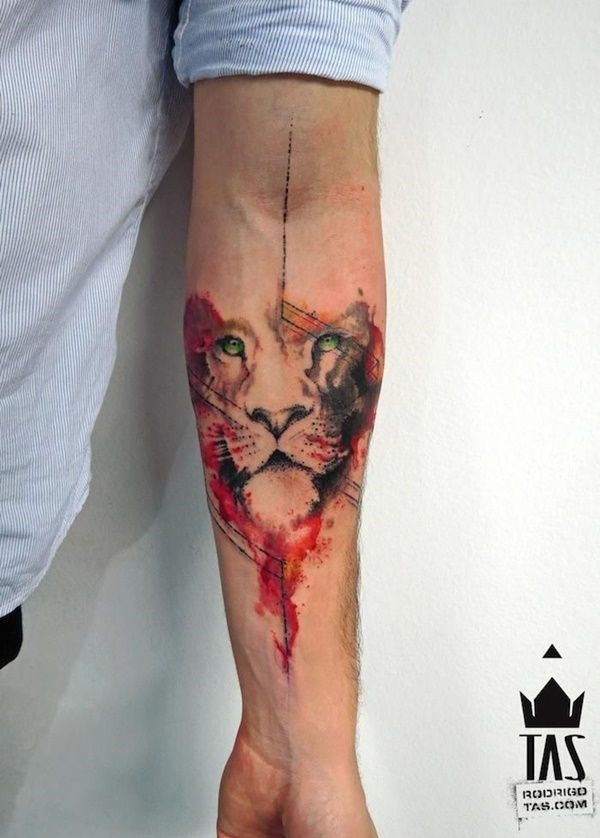 lion tattoo ideas (53)