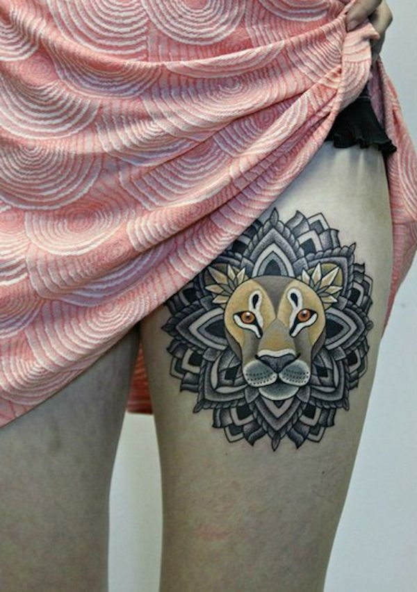 lion tattoo ideas (57)