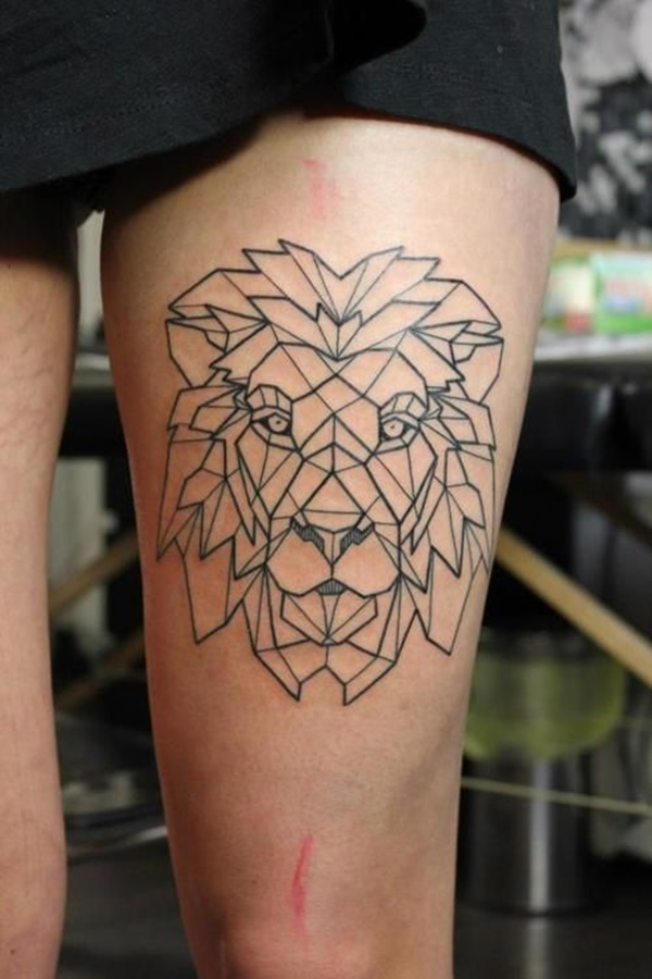 lion tattoo ideas (60)