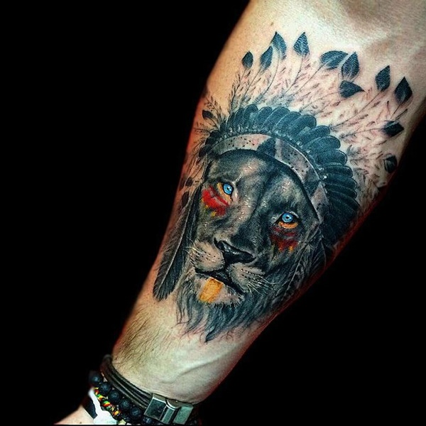 lion tattoo ideas (65)