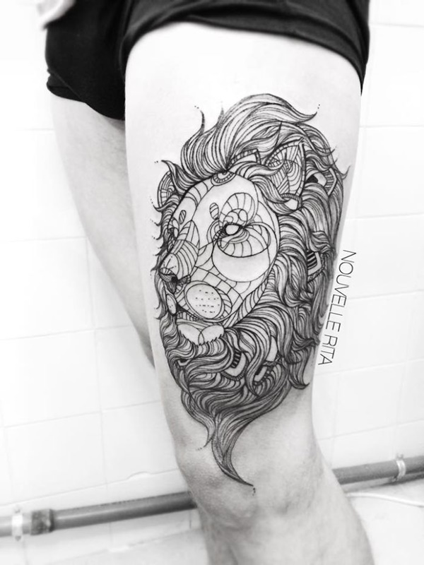lion tattoo ideas (69)
