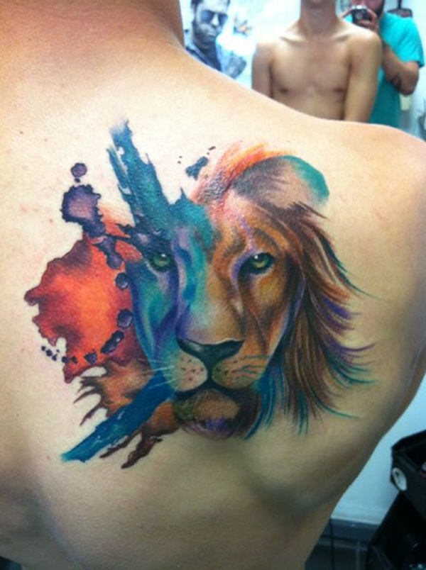 lion tattoo ideas (78)