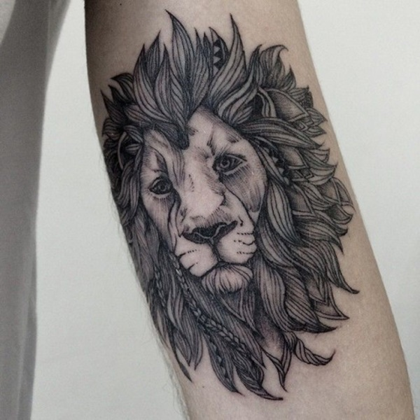 100 mysterious lion tattoo ideas to ink with. Black Bedroom Furniture Sets. Home Design Ideas