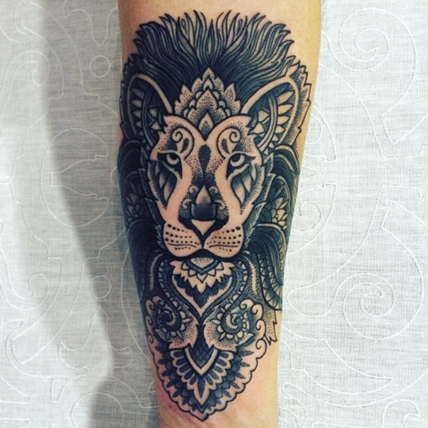 100 mysterious lion tattoo ideas to ink with for Lion head tattoo
