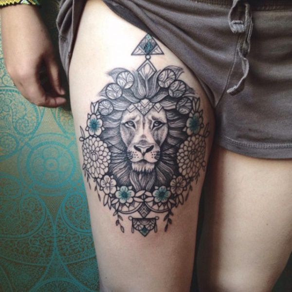 lion tattoo ideas (97)