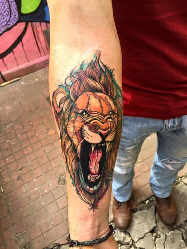 lion tattoo ideas (99)