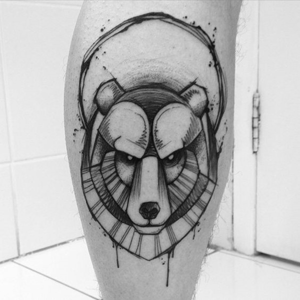 calf tattoo designs (103)