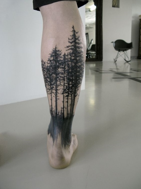 calf tattoo designs (104)