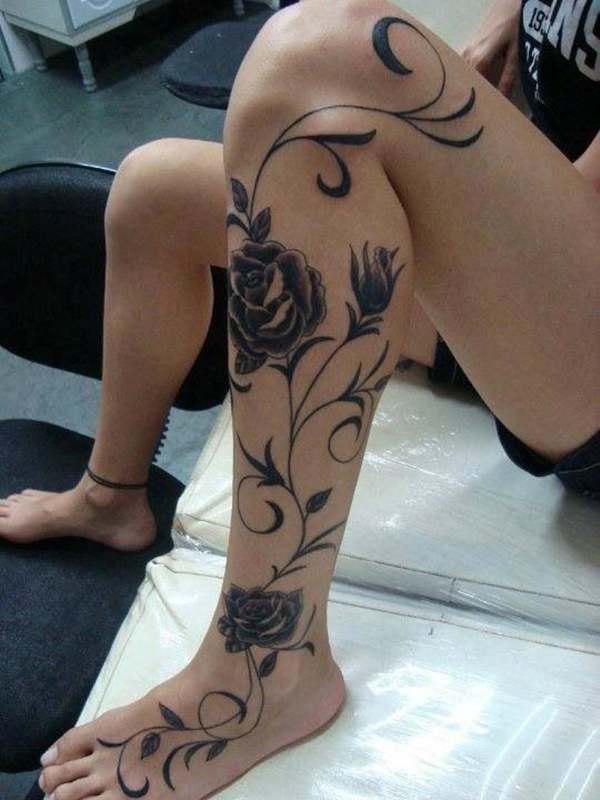 calf tattoo designs (106)