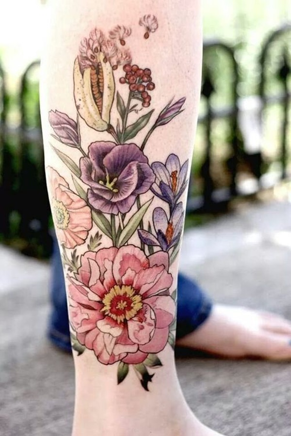 calf tattoo designs (108)