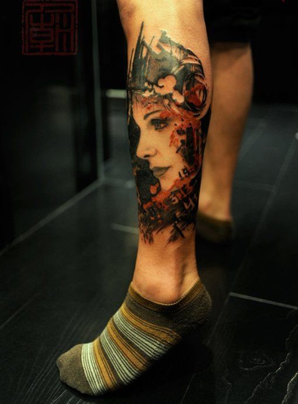 calf tattoo designs (113)