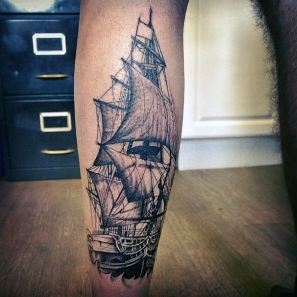 calf tattoo designs (114)